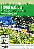Golden Pass Line - Führerstandsmitfahrten - Montreux/Zweisimmen/Interlaken - Die schönsten Bahnstrecken Europas [Alemania] [DVD]