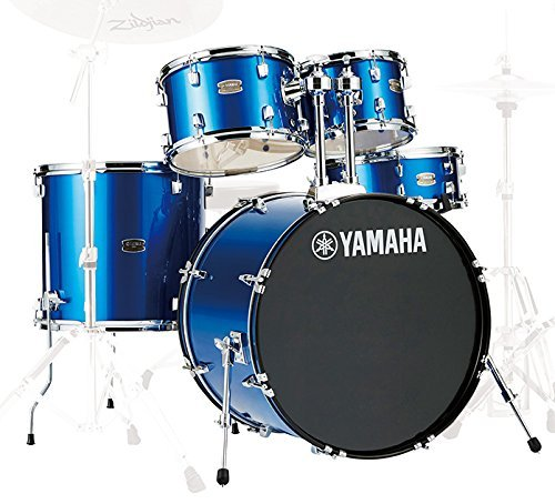 Yamaha RDP2F5FBCPSET Rydeen 22 Inch Drum Kit with Hardware - Fine Blue