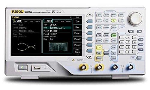 RIGOL 任意波形ファンクションジェネレータ 信号発生器 DG4000 60MHz/100M/160M/200M 2ch 500MS/s 14bits 【国内正規品】【 3年間保証付き】 (DG4102 100MHz 2ch 500MSa/s)