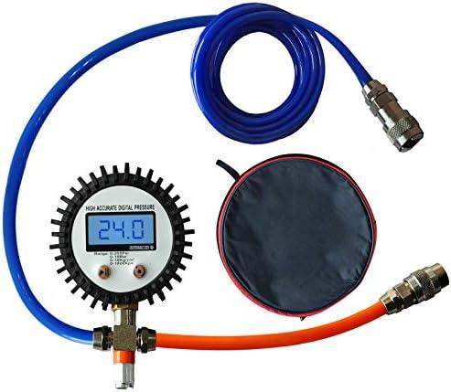 Jinkey Tire Pressure Gauge 2021 New Upgrade Digital Tire Pressure Equalizer Professional Dual product image