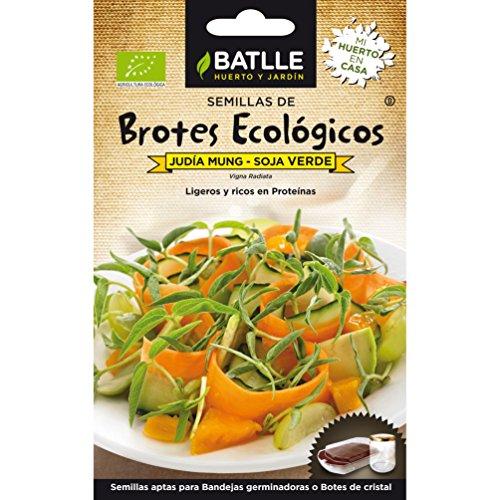 Semillas Ecológicas Brotes - Brotes ecológicos de Soja verde -