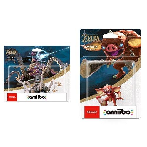 amiibo The Legend of Zelda Collection Wächter (Breath of the Wild) & amiibo The Legend of Zelda Collection Bokblin (Breath of the Wild)
