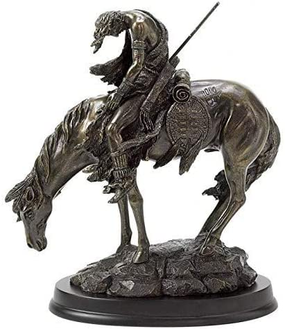 Gifts Decor Bronze Finish The End Painted of St Hand Trail San Antonio Very popular! Mall