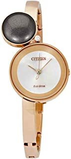 Citizen EW5493-85X Women's Stainless Steel Rose Gold Bracelet Band Rose Gold Dial Smart Watch