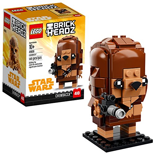 LEGO BrickHeadz Chewbacca 41609 Building Kit (149 Piece)