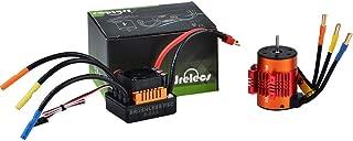 Jrelecs Upgrade Waterproof BL3660 3800KV Brushless Motor with 80A ESC Combo Set for 1/10 RC Car Truck