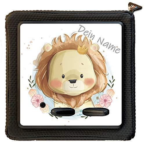 Fräulein Lotti | Schutzfolie Löwe inkl. transparenter Schutzfolie | Aufkleber Sticker für die Toniebox | Ladestation und Lauscher | Motivauswahl
