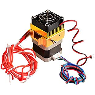 3D MK8 Extruder, Redrex Upgraded Aluminum Bowden Extruder 1.75 Filament All Metal Remote Extruder for MK8 Prusa i3 or Kossel RepRap, for CR-10 CR-10S 3D Printer Part