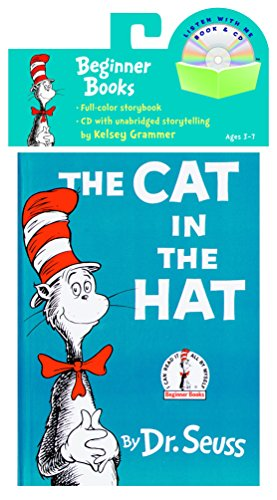 The Cat in the Hat Book & CD [Lingua inglese]