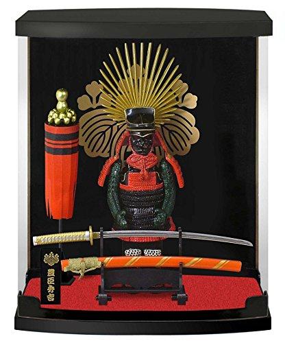 Authentische Samurai Figur/Puppe mit Rüstung: Rüstungs-Serie #12-Toyotomi Hideyoshi