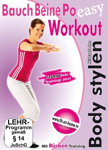 Bauch Beine Po Workout - Mit Spaß den Body stylen [Alemania] [DVD]