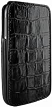 Piel Frama iMagnum Crocodile Leather Case BLACK for Samsung Galaxy S4 GT-i9500