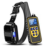 Moclever Shock Collar for Dogs, 2020 Upgraded Dog Training Collar with Remote 2624FT, Pet Trainer Collar IP67 Waterproof, Rechargeable w/Beep, 99 Levels Vibration Shock Modes for Small, Medium, Large