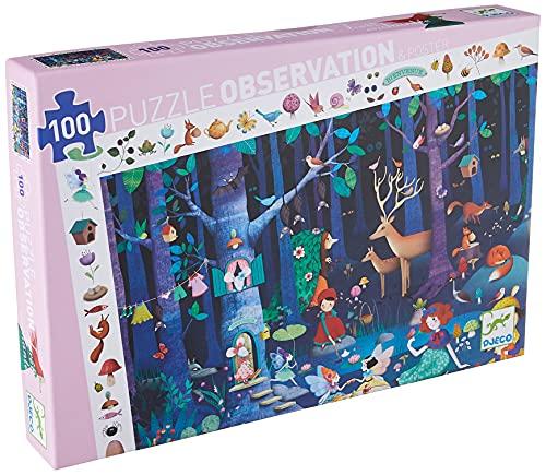 Djeco- Puzzle Observación El Bosque Encantado (DJ07504)