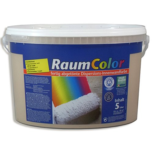 ROLLER Wandfarbe - Cappuccino - 5 Liter