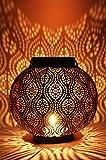 Marrakesch Orient & Mediterran Interior Lanterna portacandele Orientale in Metallo - Porta...