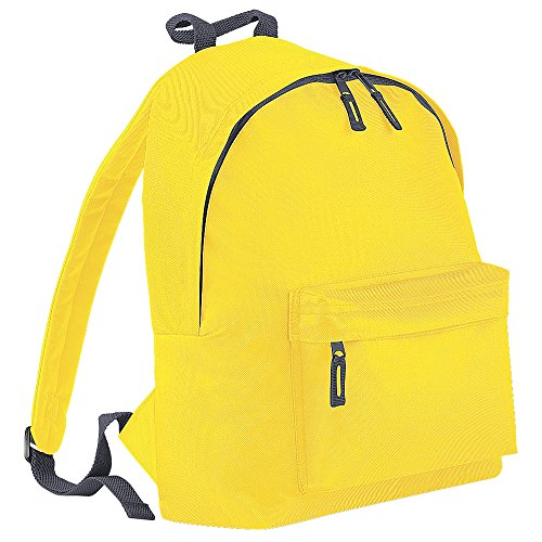Bag Base Sac à dos unisexe BG125WHGP Original Fashion - Jaune/gris graphite - Taille M