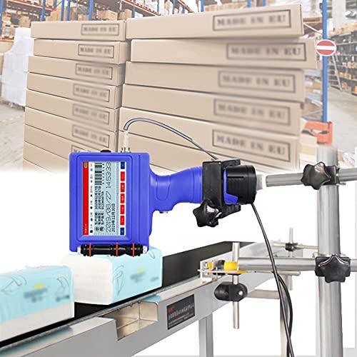 HAIT Arma De Mano De Inyección De Tinta De Impresora, Pistola de Etiquetado de Precios de Mano USB con Táctil de 3,5 Pulgadas, Admite 17 Idiomas