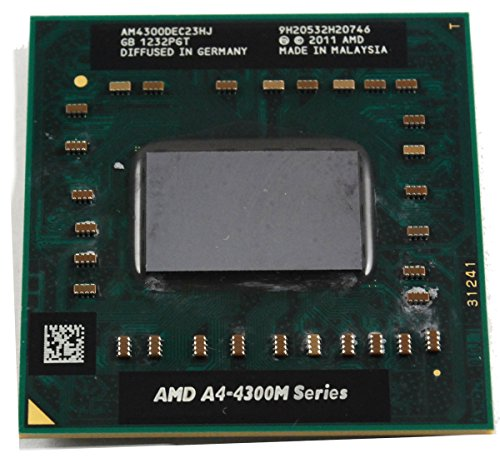 AMD A4-4300M AM4300DEC23HJ Mobile APU CPU Socket FS1r2 722pin 2.5Ghz 1MB
