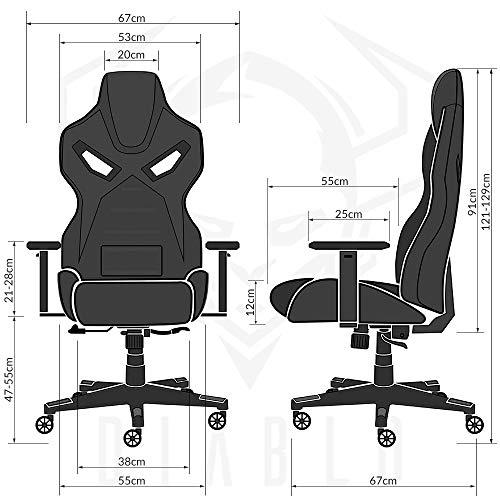 Diablo X-Fighter Gaming Bürostuhl Bild 6*