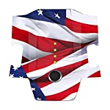 MightySkins Skin Compatible with DJI Mavic Pro Battery - Patriot | Protective, Durable, and Unique Vinyl Decal wrap Cover | Easy to Apply, Remove, and Change Styles | Made in The USA