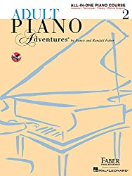 Piano Lessons Birmingham - Faber Adult Piano Adventures Level 2 Lesson Book