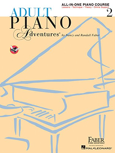 Adult Piano Adventures All-in-One Piano Course Book 2: Book with Media Online