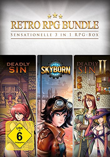 Retro RPG Bundle - 3 in 1 RPG Box [PC Download]