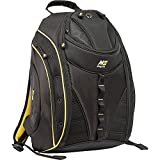 Mobile Edge Black w/Yellow Trim Express Laptop Backpack 2.0 16 Inch PC, 17 Inch Mac for Men, Women, Students MEBP42
