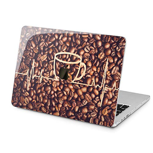 Lex Altern Hard Case for Apple MacBook Pro 15 Air 13 inch Mac Retina 12 11 2020 2019 2018 2017 2016 Pattern Beans Doctor Coffee Plastic Touch Bar Heartbeat Girl Shell Women Protective Laptop Nurse