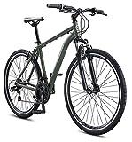 Schwinn GTX 1.0 Comfort Adult Hybrid Bike, Dual Sport Bicycle, 20-Inch Aluminum Frame, Green