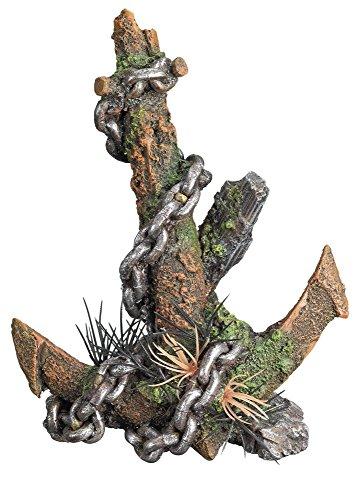 "Nobby Aqua Ornaments \""ANKER\"" MIT PFLANZEN  14,5 x 10,0 x 19,0 cm"