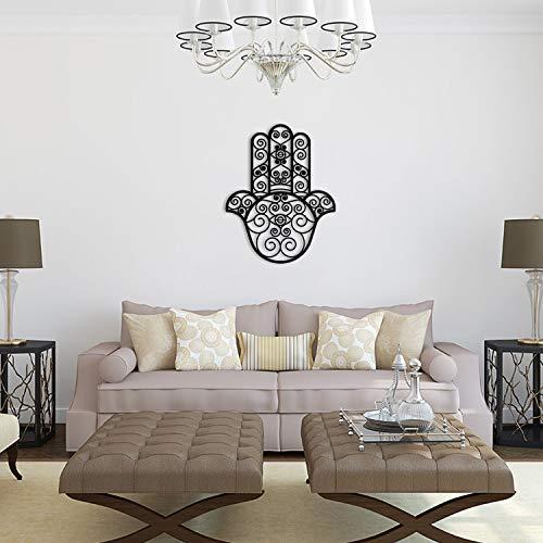 Tubibu Décoration murale 100 % métal main de Fatma pour la m