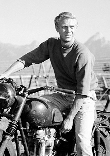 Steve McQueen 6 Poster Bekannter Schauspieler. Classic Movie Star Tolle Wanddekoration. Größe A3