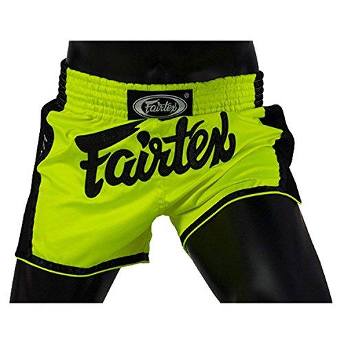 Fairtex taglio slim Muay Thai boxe pantaloncini, Unisex - Adulto, Lyndee, Small