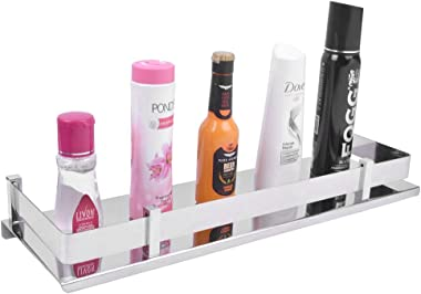 Plantex Stainless Steel Bathroom Shelf/Kitchen Shelf/Bathroom Shelf and Rack/Bathroom Accessories (12 X 5 Inches)
