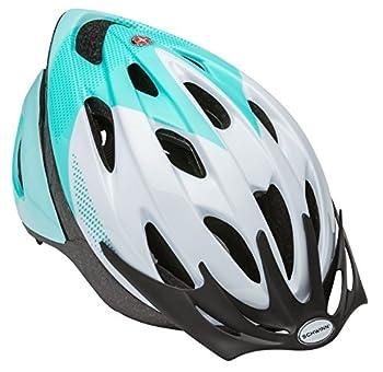 Schwinn Thrasher Bike Helmet Lightweight Microshell Design Adult Teal