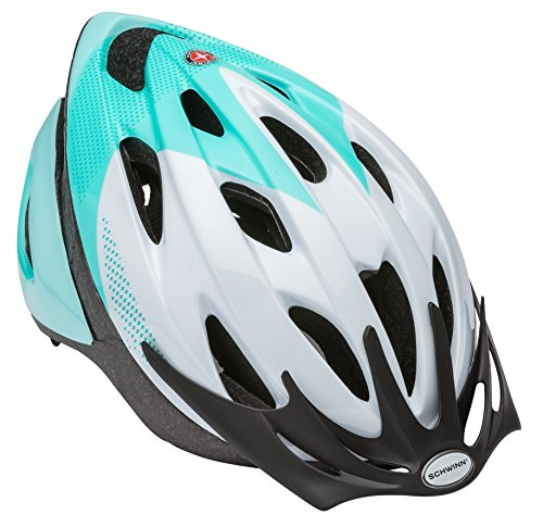 Schwinn Thrasher Bike Helmet, Lightweight Microshell Design, Adult, Teal