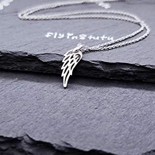 Best tiny angel wing necklace Reviews