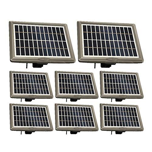 Cuddeback PW-3600 Solar Power Bank Bundle (8 Items)