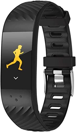 GaLon Fitness Tracker, Moniteur Couleur écran Tactile Type de Pression artérielle Exercice de Surveillance de la fréquence voiturediaque Bracelet étanche IP67