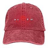 Día Mundial del Donante de Sangre: Gorra de béisbol para la concienciación del Donante de Sangre, Sombrero para el Sol de algodón Vaquero Lavado Vintage Ajustable para Exteriores