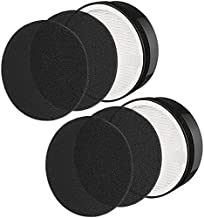 isinlive LV-H132 True HEPA Replacement Filter Compatible for Levoit lv-H132-RF Air Purifier , 3-in-1 True HEPA Filter, Activated Carbon Filter, and Fine Preliminary Filter (2-Pack)