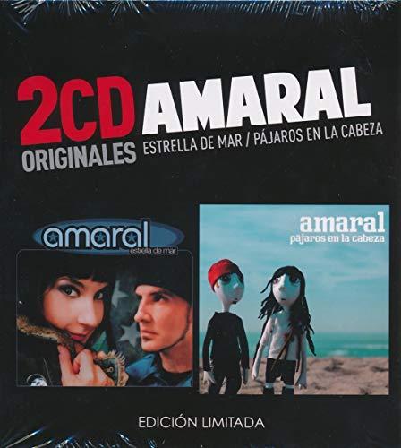 Amaral -Estrella De Mar  /  Pajaros En La Cabeza  (2 CD)