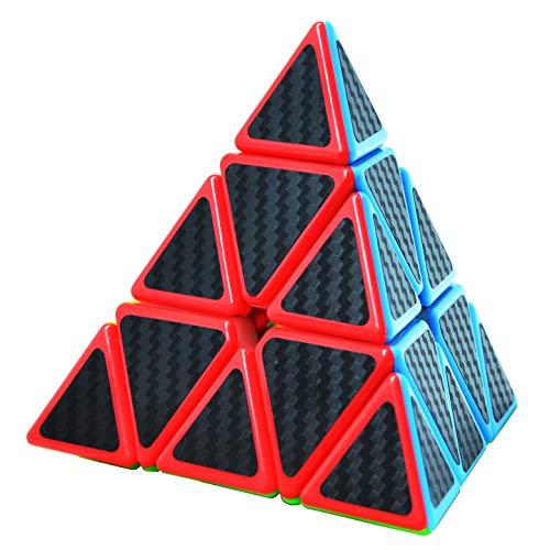 Maomaoyu Piramide Cubo 3x3 3x3x3 Profesional Pyraminx Puzzle