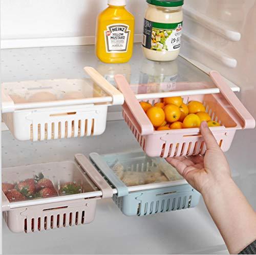 mingyimingshangmao Kunststoff kühlschrank ablagekorb, Lebensmittel getränkeschublade aufbewahrungsbox, küchenschrott Finishing Box ablagekorb