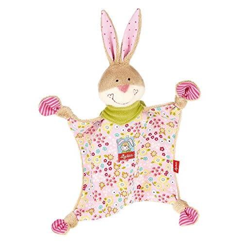 sigikid 48933 - Bungee Bunny, Straccetto doudou a forma di coniglietto
