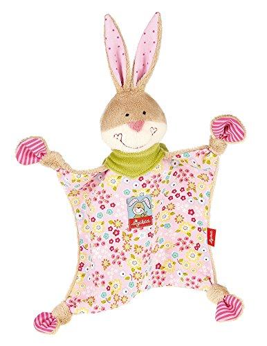 *sigikid, Mädchen, Schnuffeltuch Hase, Bungee Bunny, Rosa/Bunt, 48933*