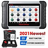 Autel Scanner MK808 Diagnostic Scan Tool 2021 Newest with All System Diagnosis, 25+ Maintenance Functions Services Including IMMO, Oil Reset, EPB, BMS, SAS, DPF, ABS Bleed
