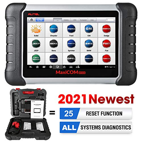 Autel Scanner MK808 Diagnostic Scan Tool 2021 Newest with All System Diagnosis, 25+ Maintenance...